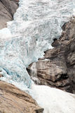 Glacier Briksdal Royalty Free Stock Photos