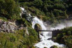 glacier briksdal Norvège Photographie stock