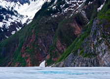 Glacier Cascade Stock Photos
