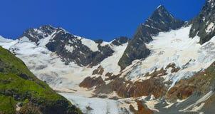 Glacier in Caucasus Royalty Free Stock Photography