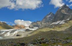 Glacier in Caucasus Royalty Free Stock Photos