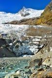 Glacier in Caucasus Stock Photography