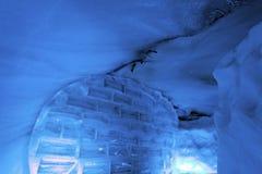 Glacier cave Royalty Free Stock Photos