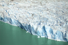Glacier, Chile. Glacier in Torres del Paine National Park, Chile Royalty Free Stock Images