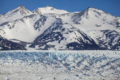 Glacier, Chile. Glacier in Torres del Paine National Park, Chile Royalty Free Stock Photo