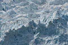 Glacier cliff face Royalty Free Stock Images