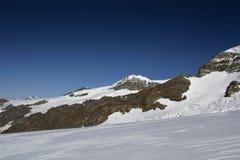 On the glacier Royalty Free Stock Photos