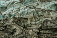 Glacier close up Stock Photography