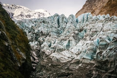 Glacier close up Stock Photos