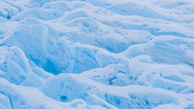 Glacier Closeup. Close-up view of Portage Glacier, Alaska Royalty Free Stock Images