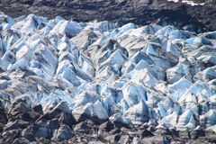 Glacier closeup Stock Photo