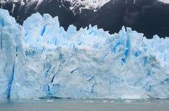 Glacier cracks. Details of cracks in perito moreno glacier Stock Photography