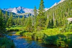 Glacier Creek stock image