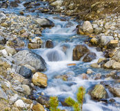 Glacier Creek Flowing Water Royalty Free Stock Photography