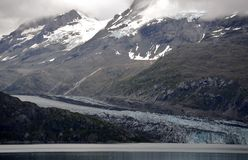Glacier d'Alaska Photo stock