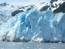 glacier d'Alaska Images libres de droits