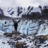 Glacier d'Alaska photos libres de droits