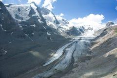 Glacier d'Apls Photo libre de droits