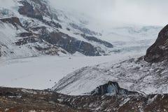 Glacier d'Athabasca, Canada Photo libre de droits