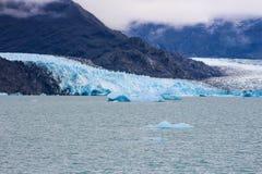 Glacier d'Upsala chez Argentino Lake, parc national de visibilité directe Glaciares, Patagonia images libres de droits
