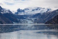 Glacier dans la baie de glacier Images stock