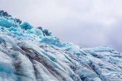 Glacier dans Skaftafell, Islande Images libres de droits