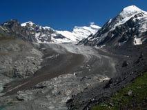 Glacier de Corbassiere, ch Photo libre de droits
