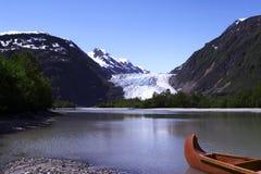 Glacier de Davidson photographie stock