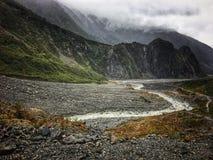 Glacier de Fox photo libre de droits