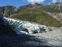 Glacier de Fox en 2010 Images stock