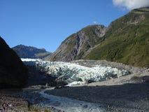 Glacier de Fox en 2010 Image stock