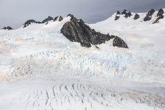 Glacier de Franz Josef de première vue Images libres de droits