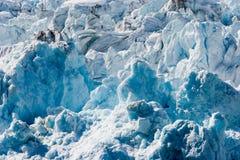 Glacier de Hubbard Image libre de droits