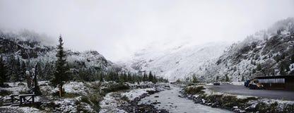 Glacier de Kaunertal en parc naturel de Kaunergrat au Tyrol, Autriche Image stock