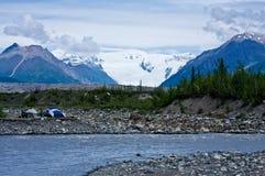 Glacier de Kennicott Image stock