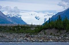 Glacier de Kennicott Photos stock