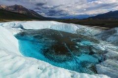Glacier de Kennicott Image libre de droits