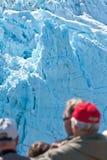 Glacier de l'Alaska Image libre de droits