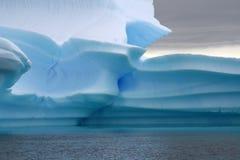 Glacier de l'Antarctique Image stock