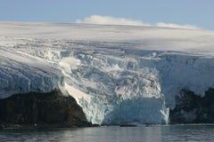Glacier de l'Antarctique Image libre de droits