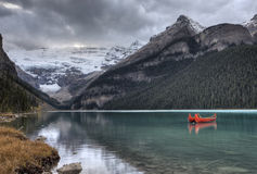 Glacier de Lake Louise Photo stock