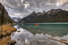 Glacier de Lake Louise Image stock