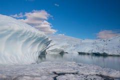 Glacier de Matanuska Images stock