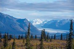 Glacier de Matanuska images libres de droits
