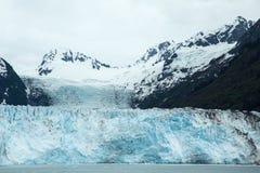 Glacier de Meares Photo stock