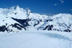 Glacier de Mendenhall Photo stock