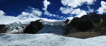 Glacier de MiDui image libre de droits