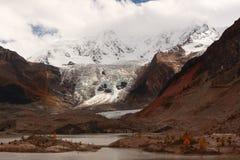 Glacier de Midui Images libres de droits