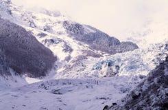 Glacier de Mingyong Images stock