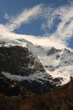 Glacier de montagne Images libres de droits